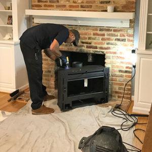 Fireplace Insert Installation Regency Wood Gas Inserts