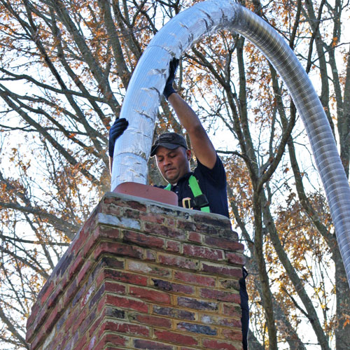 chimney repair in Russett MD