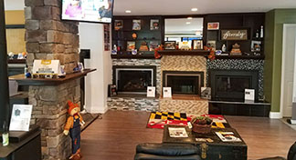 Stoves in displays