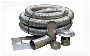 Chimney pipe parts