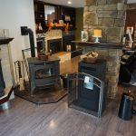 wood stove encloseres